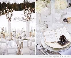 idã e dã co mariage pas cher idées pour décorer une table mariage en hiver décoration
