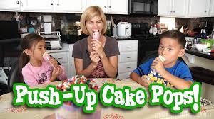 mommytube makes push up cake pops youtube
