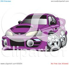 subaru purple royalty free rf clipart illustration of a purple subaru impreza