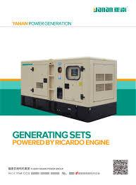 yanan weifang ricardo engine series diesel generator sets fujian
