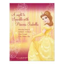 top 10 disney princess custom birthday invitations