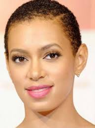 hairstyles for african noses pictures of black woman with a very short afro short curly afro