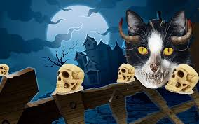 halloween wallpaper hd halloween kitten wallpaper wallpapersafari
