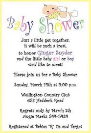 baby shower invitation wording ideas blueklip