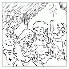 coloring pages nativity kids coloring