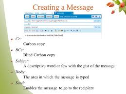 How Does Blind Carbon Copy Work Goodbye Snail Mail Hello Ppt Online Download