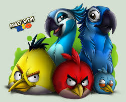 angry birds images angry birds rio wallpaper background photos