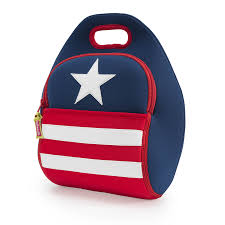 Flag 48 Stars Stars And Stripes Us Flag Lunch Bag By Dabbawalla Bags