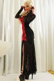 womens vampire halloween classic costume