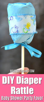 baby shower party favors ideas diy rattle the baby shower party favor