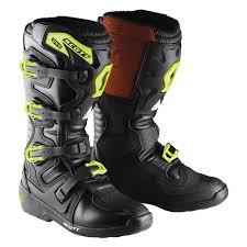 off road motorcycle boots scott 350 boots blk grn scott mx boots pinterest