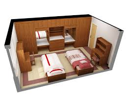 Home Design Architectural Free Download 3d Floor Plan Software Free With Nice Double Single Bed Design For