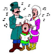 singing carols clipart free clip images