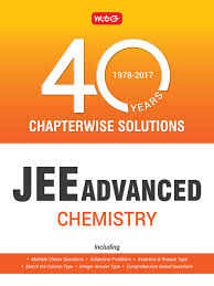 40 years jee advance chapterwise solutions chemistry