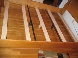 bed frame support system bed frame support beam susan decoration