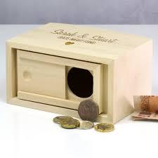 money box date fund wooden money box by mirrorin notonthehighstreet
