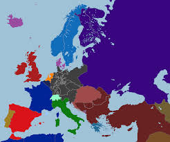 Germany Map Europe by Map Of Europe 1851 A Greater Germany By Tiltschmaster On Deviantart