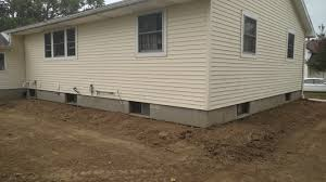 bowing basement walls in gilboa ohio forever foundation