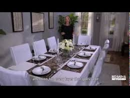 Dining Table Set Up Images Dressing Up Your Dining Room Table Youtube