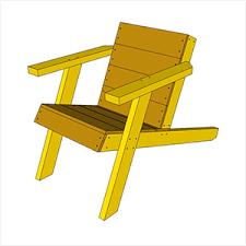 Build An Adirondack Chair Simple Adirondack Chair Plan U2013 Izzyswan Com