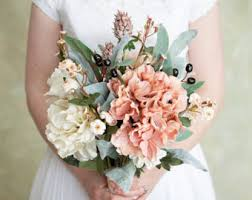 Shabby Chic Wedding Bouquets by Etsy Your Place To Buy And Sell All Things Handmade