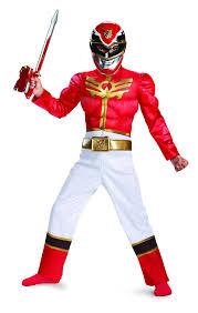 amazon com halloween costumes amazon com disguise power ranger megaforce red ranger boy u0027s