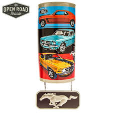 ford mustang metal wall ford mustang arched metal wall decor open road brands back