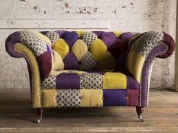 Patchwork Chesterfield - portfolio only patchwork
