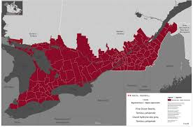 Quebec Canada Map Appendix 1 List Of Pine Shoot Beetle Infested Areas In Canada And