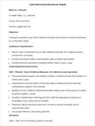 Interpersonal Skills For Resume 51 Teacher Resume Templates U2013 Free Sample Example Format