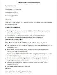 Psychology Resume Template 51 Teacher Resume Templates U2013 Free Sample Example Format