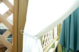Outdoor Canvas Curtains Pergola Curtains Diy Curtain Rods For Your Pergola Outdoor