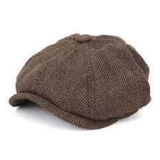 high quality visor cotton newsboy beret cap outdoor