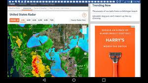Weather Map Of The United States by Us Doppler Radar Weathercom Radar Widget Zoom Radar 10 Day
