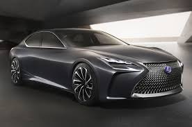 lexus lf lc 2015 price lexus lf fc flagship concept is a thinly veiled ls with fuel cell