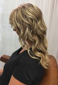 platinum blonde and honey blonde highlights with cool neutral
