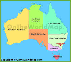 territories of australia map australia maps map of australia