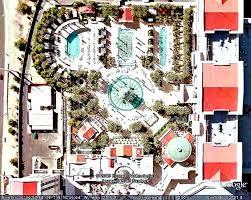 layout of caesars palace hotel las vegas vegas by satellite google earth maps images