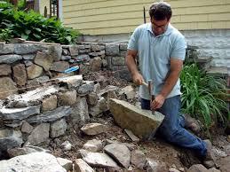 Rock Garden Wall How To Build Tiered Garden Walls How Tos Diy