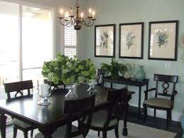 decorating a dining room buffet in a dining room too small for a