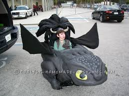 Toothless Costume Toothless And Hiccup Wheelchair Costume