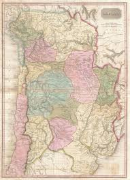 Map Of Bolivia South America by File 1818 Pinkerton Map Of Of La Plata Southern South America