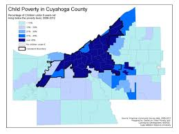 Chicago Poverty Map by Child Data System Center On Urban Poverty