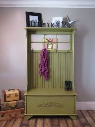decorations vintage coat rack in small space which looks