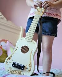 personalized kids toy guitar gifts for kids music