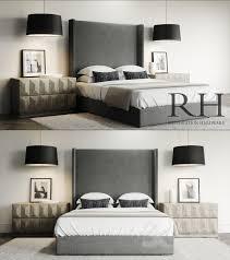 Custom Platform Bed 3d Models Bed Lawson Custom Platform Bed Set Restoration Hardware