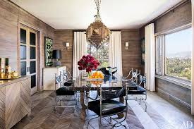 Dining Room Furniture Los Angeles Step Inside 47 Dining Rooms Photos Architectural Digest