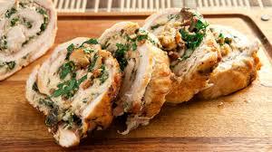 thanksgiving stuffed turkey breast turkey breast