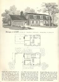 New England House Plans Vintage House Plans 1970s New England Gambrel Roof Homes Part 2