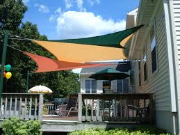 Awning Over Patio Sail Awnings For Patio Crafts Home